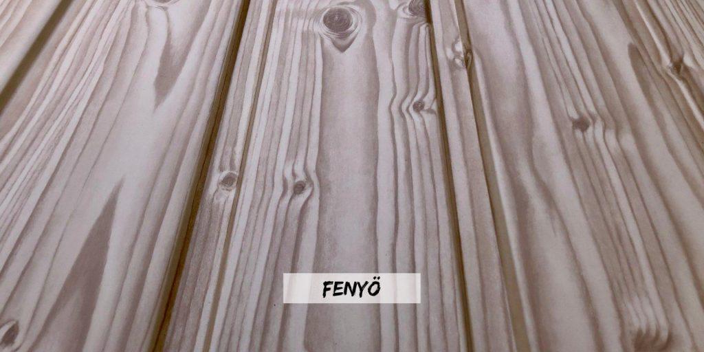 T8 fenyő fa hatású kerítés szín